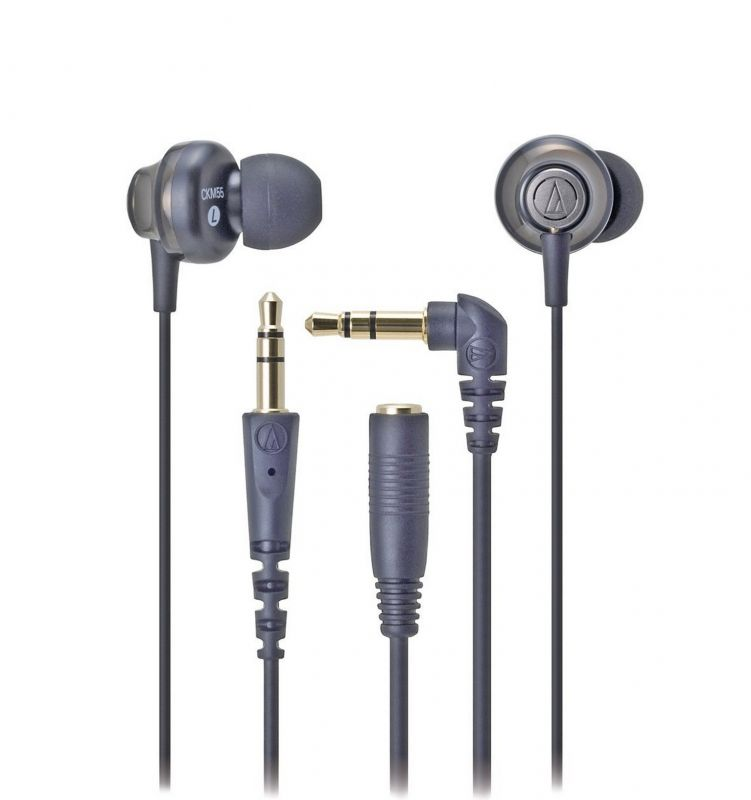 Audio Technica Ath Ckm55bk Solid Bass Noise Isolation In Ear Headphones Buydig Headphones Travel Audiotechnica Ea Audio Technica Electronic Products Audio