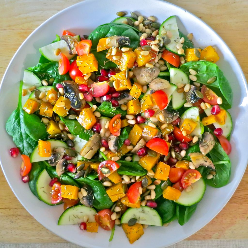 are salads on a low residue diet