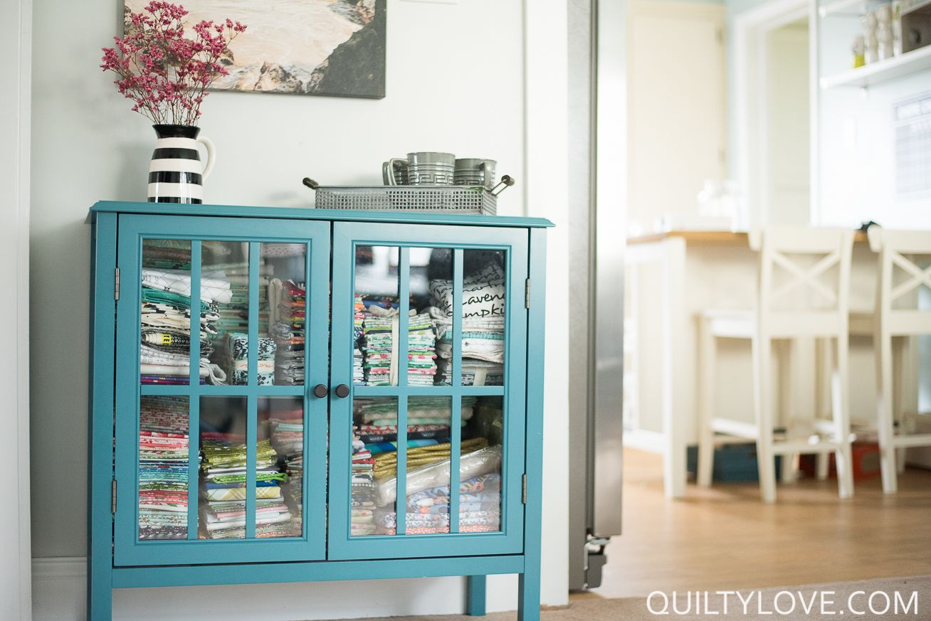 Quilting (and working) in a small space | Small spaces, Small space ...