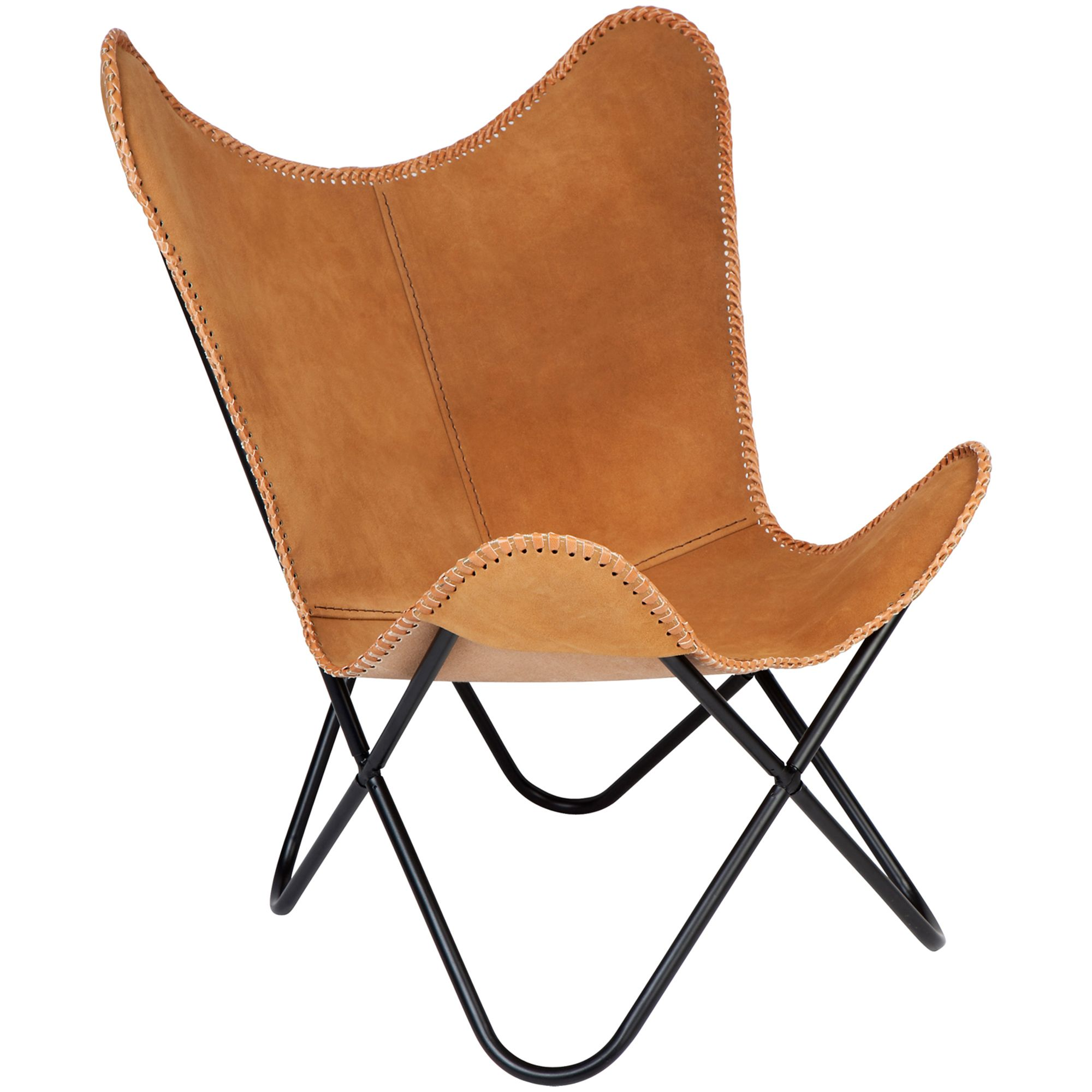 Home Lifestyle Argus Leather Butterfly Chair Reviews Temple