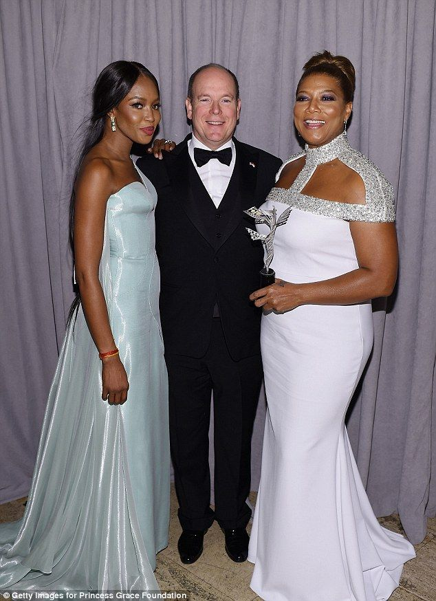 Queen Latifah Wedding Pictures.Naomi Campbell Heads To Princess Grace Awards In New York