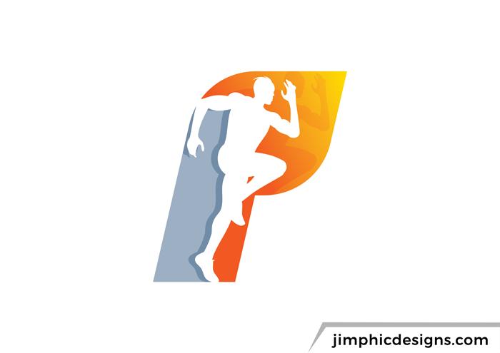 P Sport Logo Logo Design Sports Logo Sport Outfit Men