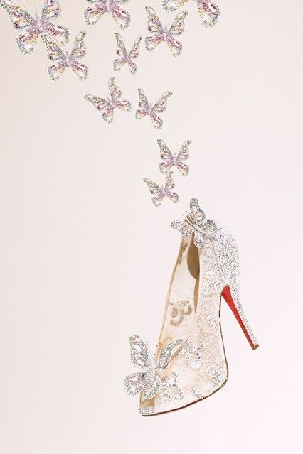 Louboutin Cinderella Glass Slippers