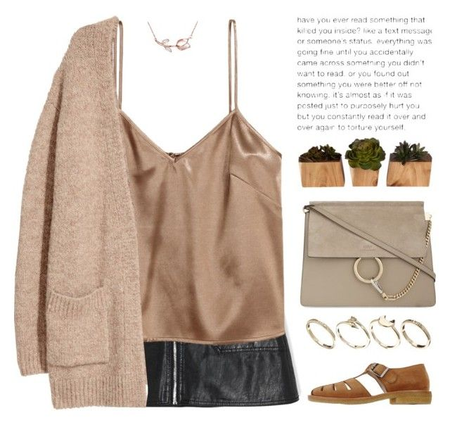 """""""New theme: Brown!"""" by ootdreport on Polyvore featuring Kofta, YMC, INC International Concepts, Chloé and ASOS"""