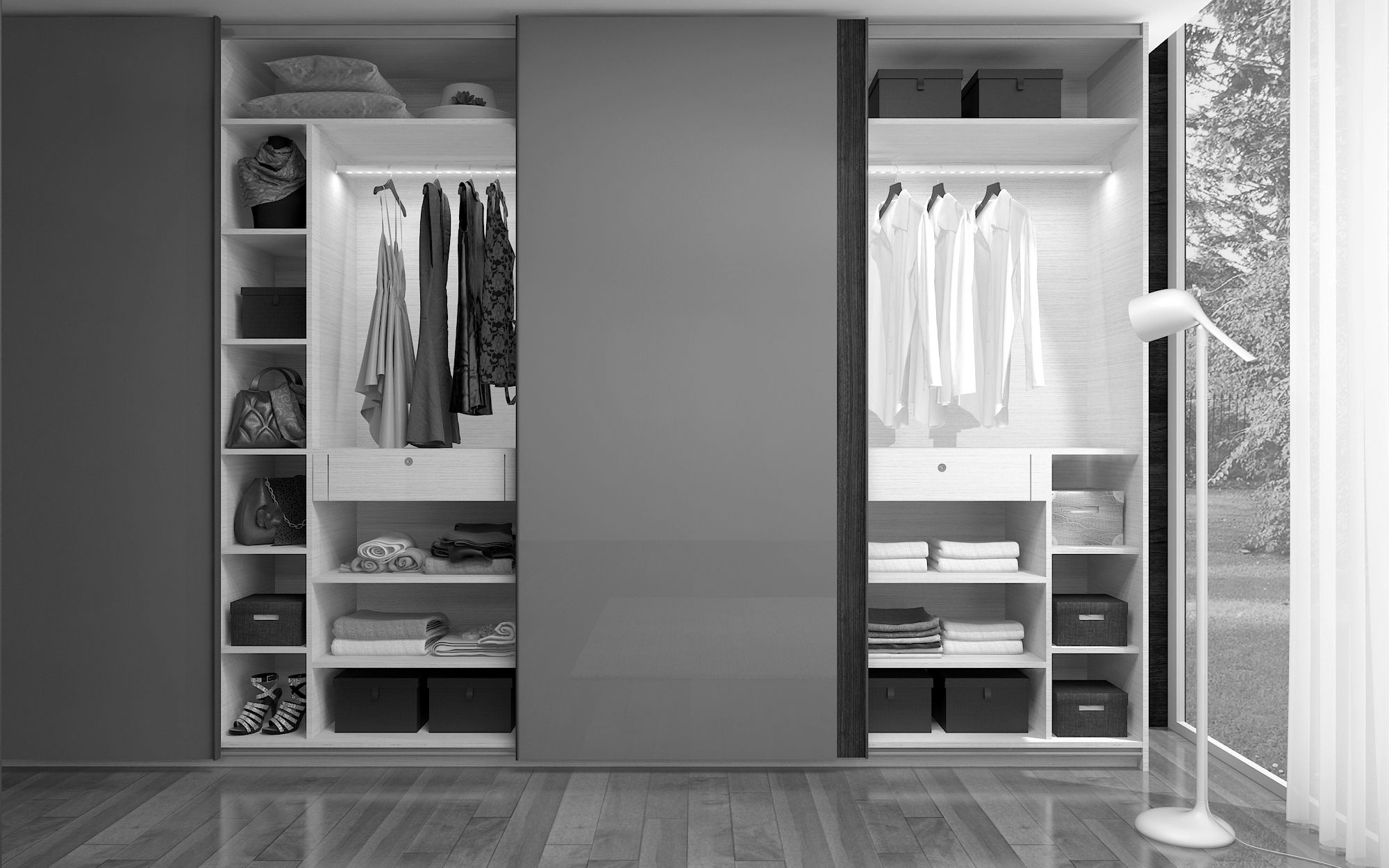 24 Cool Bedrooms Wardrobes Sample Among The Best Benefits Of Fitted Wardrobes Is The Wardrobes Is Develo Awesome Bedrooms Fitted Wardrobes Design Your Bedroom