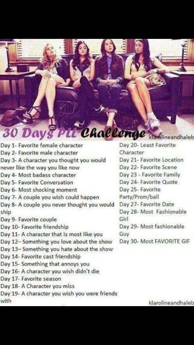 Pll 30 Day Challenge