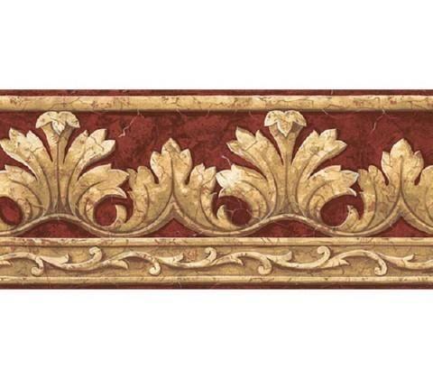 Crown Acanthus Leaf Wallpaper Border Tlng L Jpg 480 420 Victorian Wallpaper Wallpaper Border Acanthus