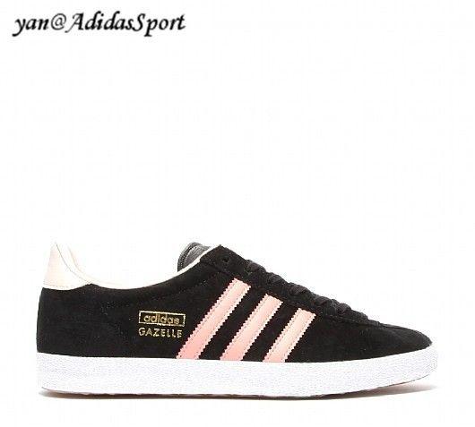 reputable site 2788f 58fe5 Adidas Originals Dame Gazelle OG Sneakers SortSt Fade RoseSt ørken Pink  HOT SALE! HOT PRICE!