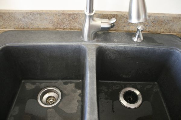 Battle Of The Black Granite Composite Sink With Images Granite
