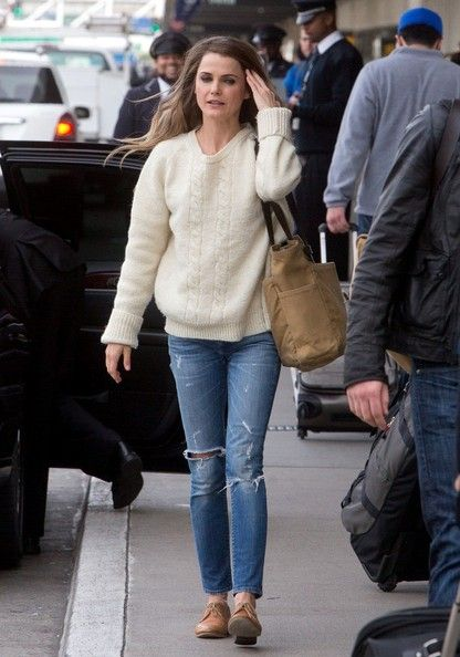 Keri Russell Photos Photos Keri Russell At The Airport In La Keri Russell Autumn Winter Fashion Skinny Ankle Jeans