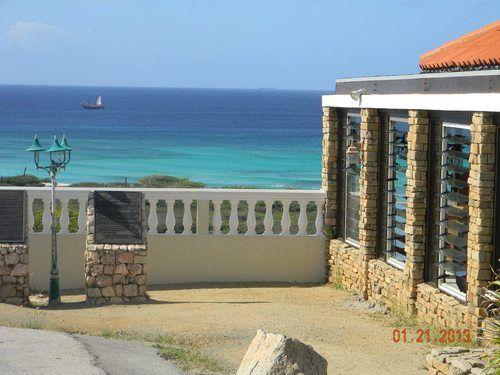 White lighthouse restaurant, Aruba