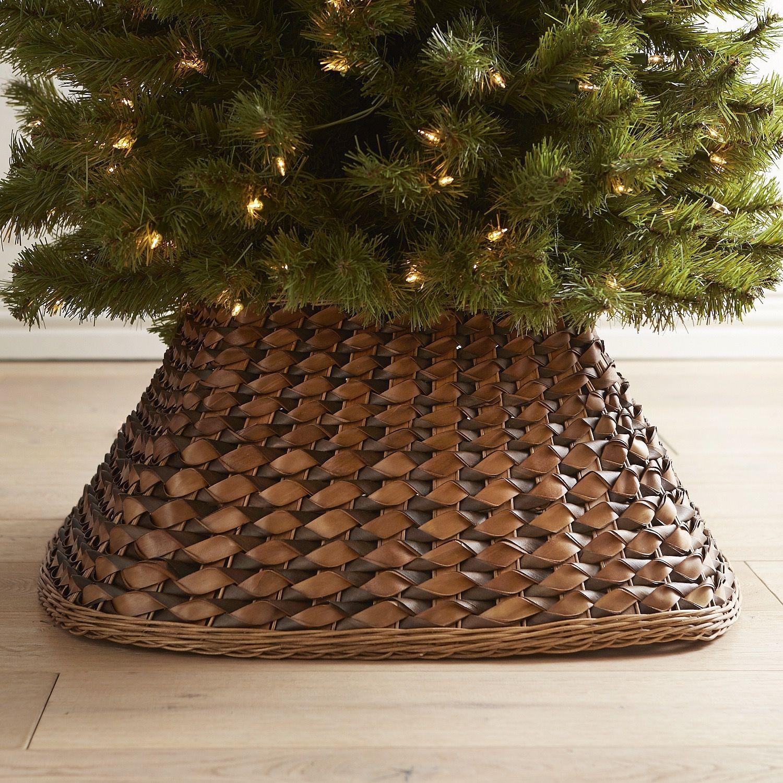 Brown Woven Tree Collar *Pier 1 Index* Tree collar
