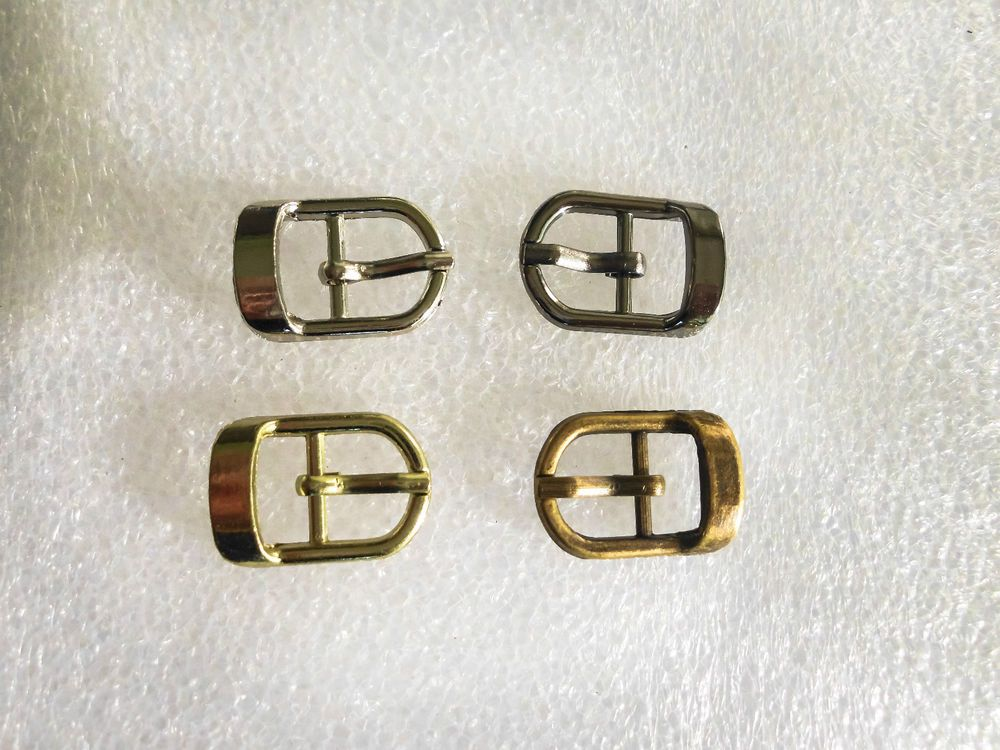 Small Buckles Metal fit 10mm straps for shoes, belts, hats, dolls, bags or toys #JaszitupleatheraccentsJiula