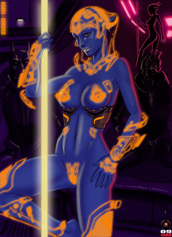 Kemp nude asari from mass effect david hot