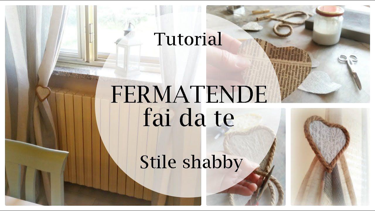 Tende Fai Da Te Stile Shabby : Fermatende fai da te in stile shabby chic tutorial per tende