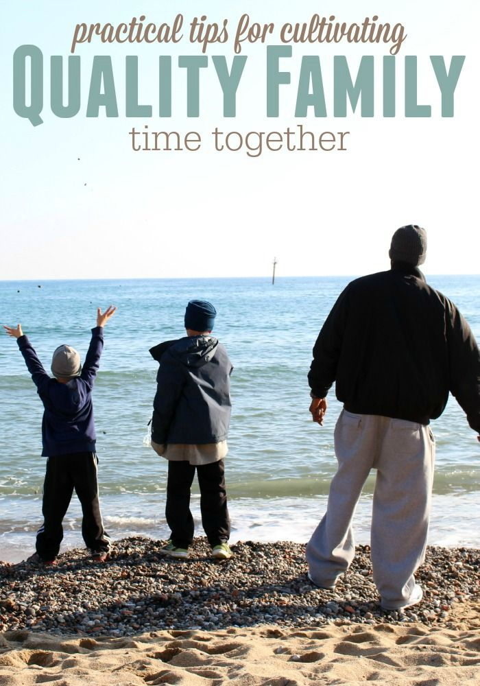 Simple tips for your everyday life to cultivate quality family time. It's worth it! #TheThingsWeCanDo #ad