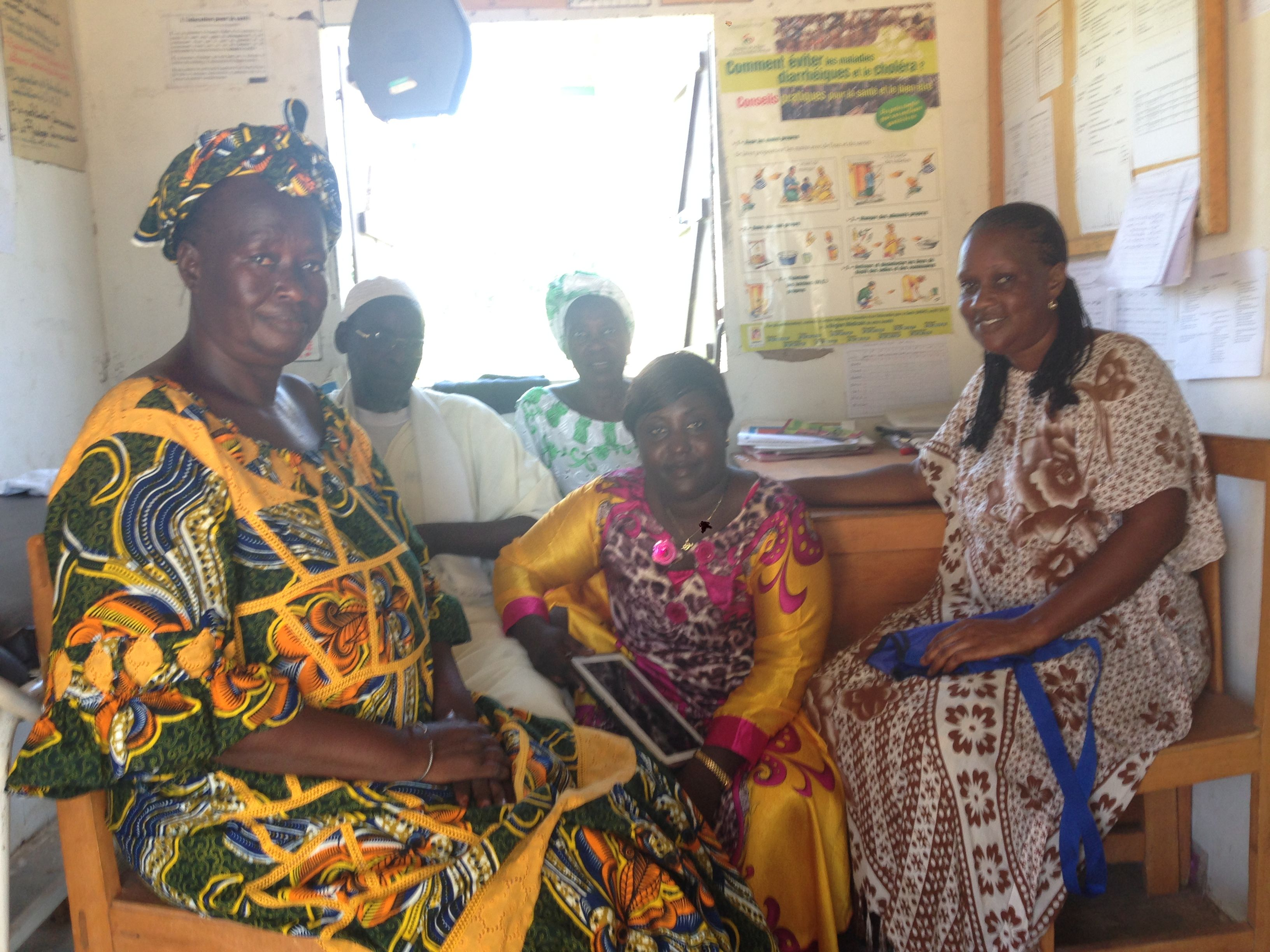 A community-run health dispensary comes back to life in Senegal   Tostan