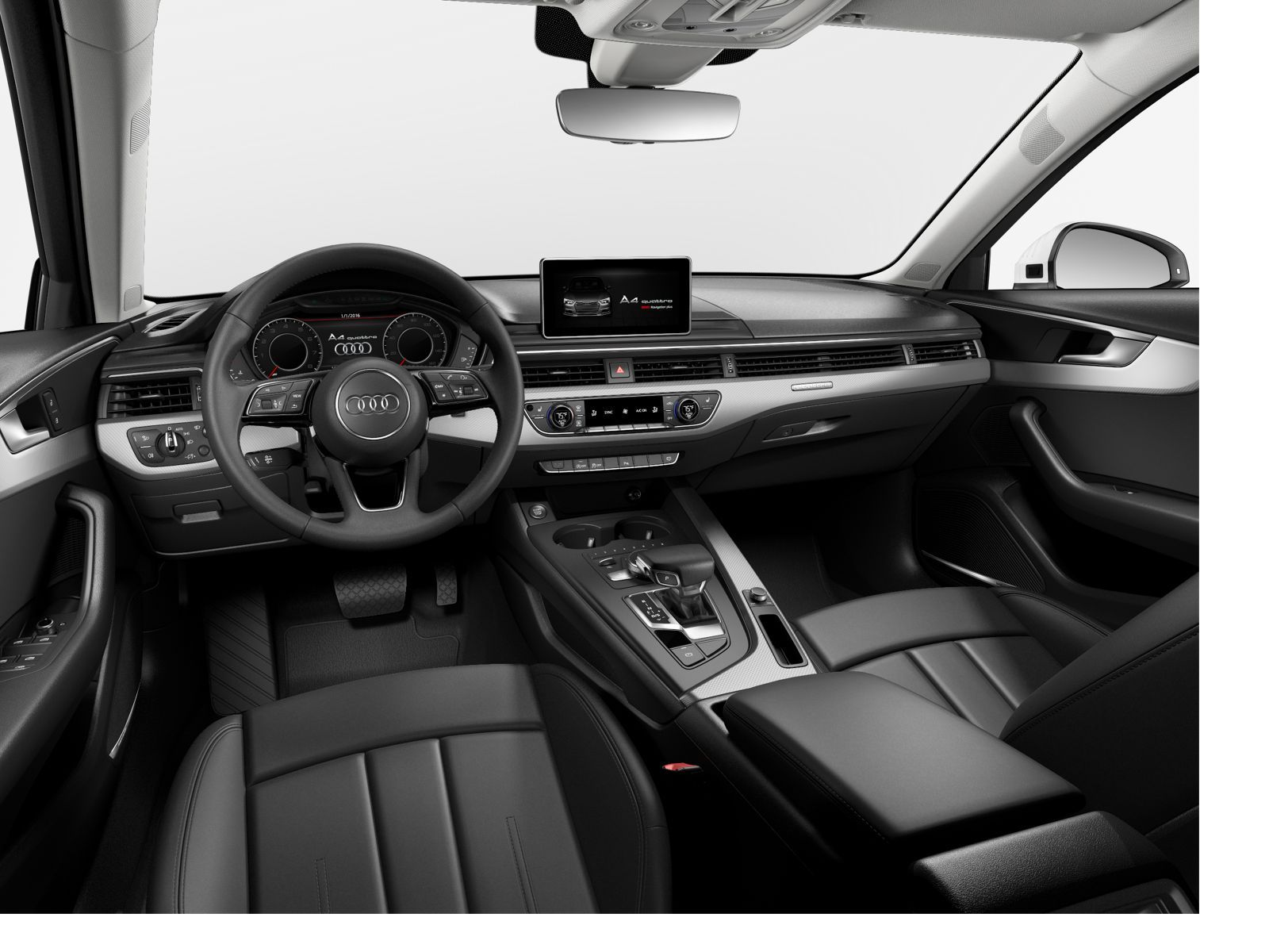 2017 Audi A4 prestige with larger infotainment screen mmi touch