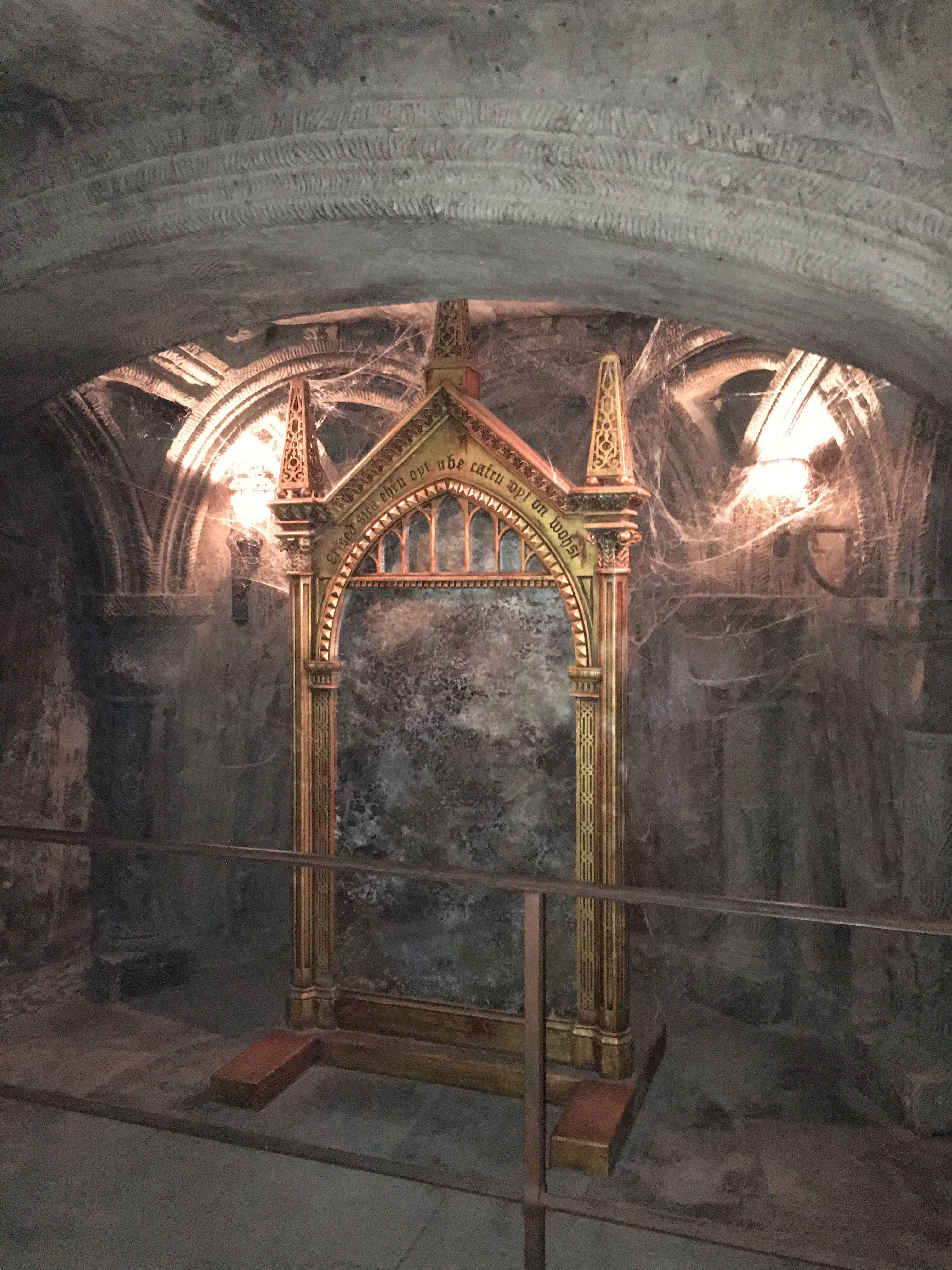 The mirror of Erised at Hogwarts | Harry Potter :D | Pinterest