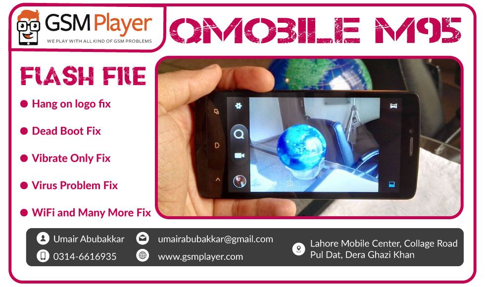 QMobile M95 Flash File SPD7731 v4 4 3 with Flash Tool 100