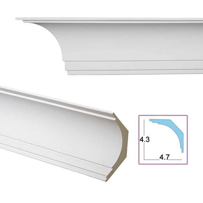Overstock Com Online Shopping Bedding Furniture Electronics Jewelry Clothing More Crown Molding Cove Crown Molding Moldings And Trim