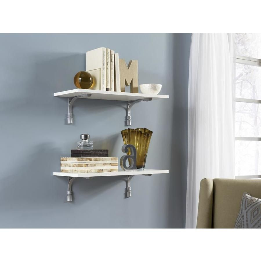 Product Image 3 Wood Shelves White Laminate Shelves
