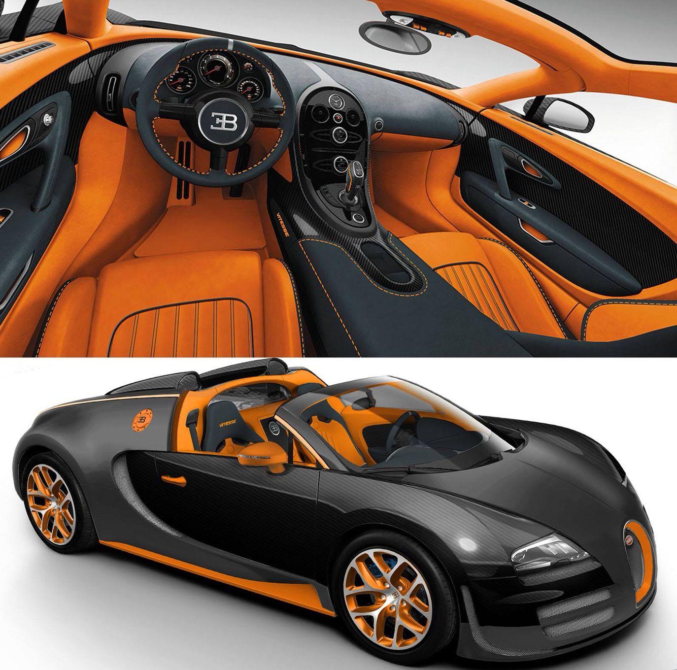 Wallpaper Bugatti Veyron Grand Sport Vitesse Sports Car: Bugatti Veyron, Expensive Sports Cars