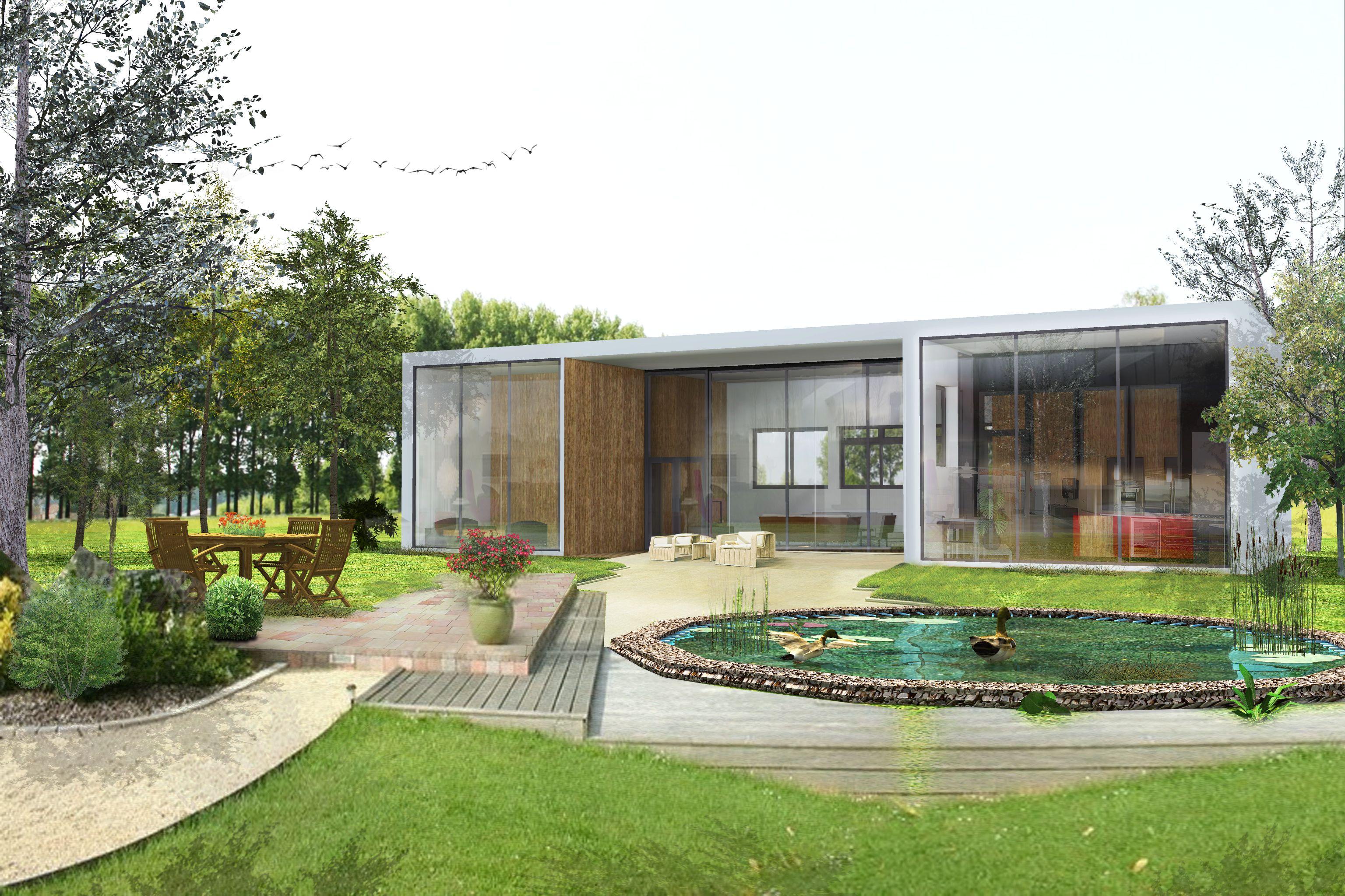 Cette maison contemporaine réalisée par François Thoulouze est ...