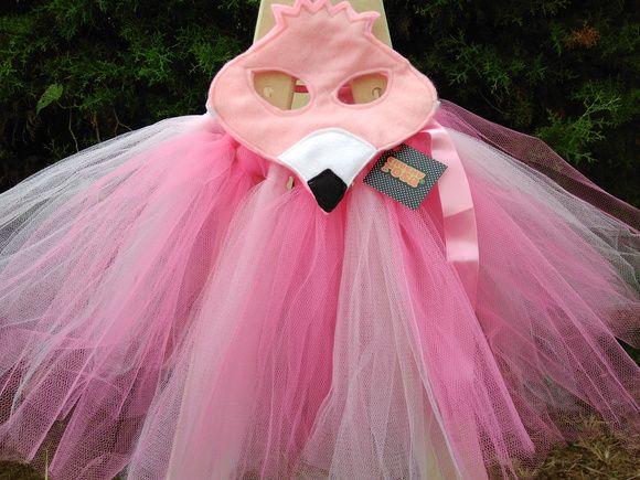 Fantasia De Flamingo Cor De Rosa Fantasias Fantasias Carnaval Flamingo