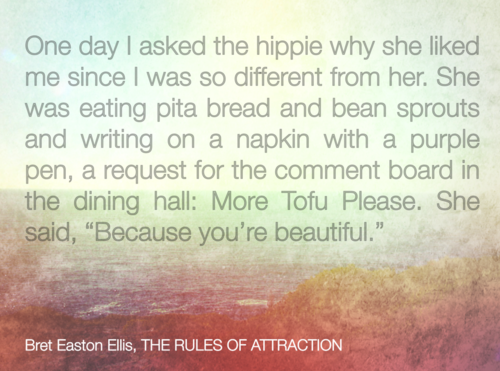 Quote From The Rules Of Attraction By Bret Easton Ellis Farr Off