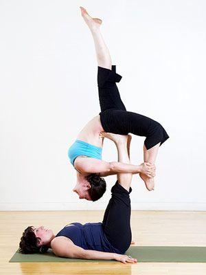 extreme partner yoga poses