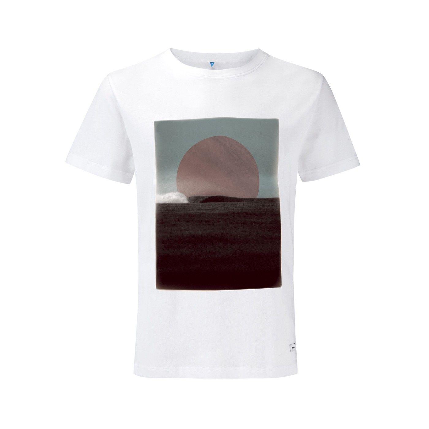 Half In Tee | Mens Merino Wool Blend T-Shirt | Finisterre UK