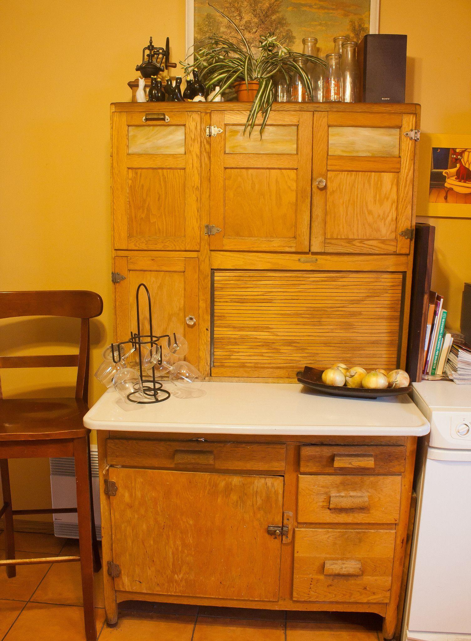 1912 Hoosier | Hoosier cabinet, Cabinet styles, Hoosier ...