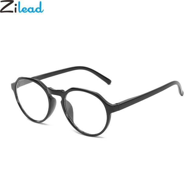 4e126105c84 Zilead Black Polygon Reading Glasses Ultra Light Clear Lens Eyeglasses  Presbyopia 1.0 1.5 2.0 2.5 3.0 3.5 4.0 For Women
