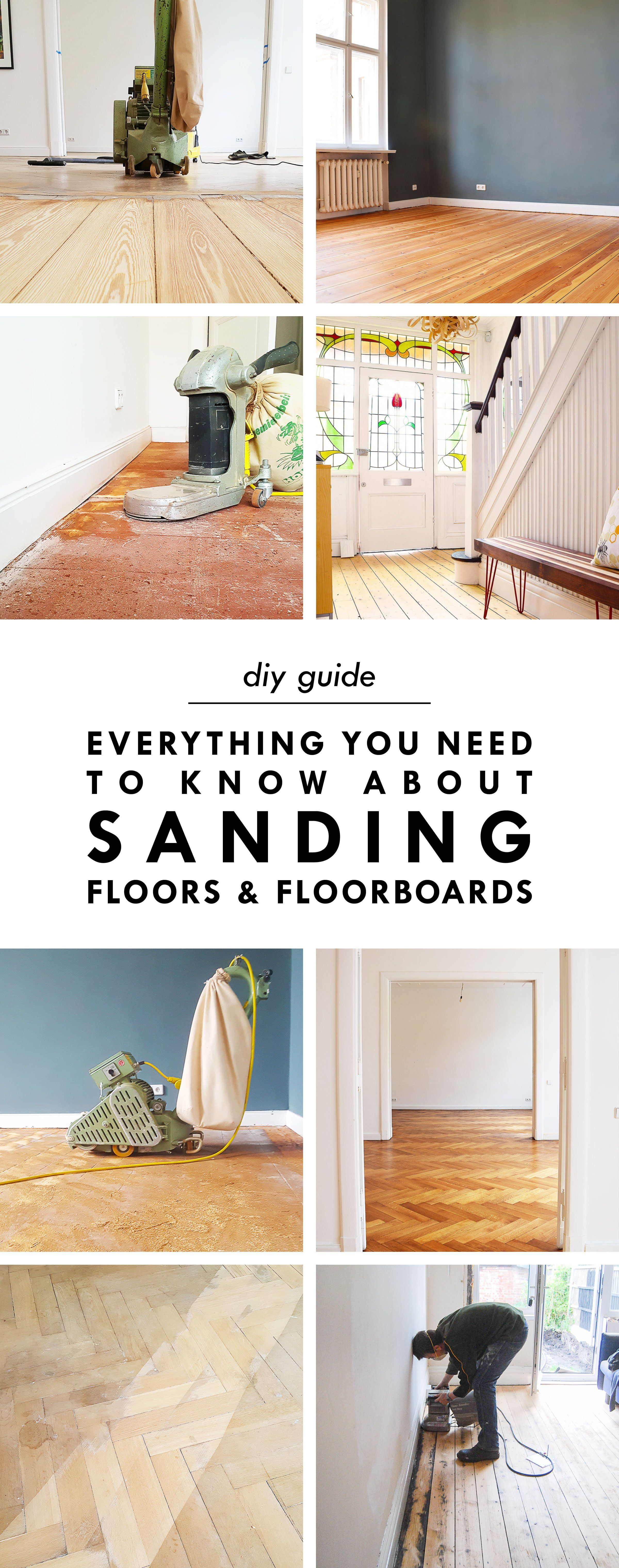 Everything You'll Ever Need To Know About Sanding Floors