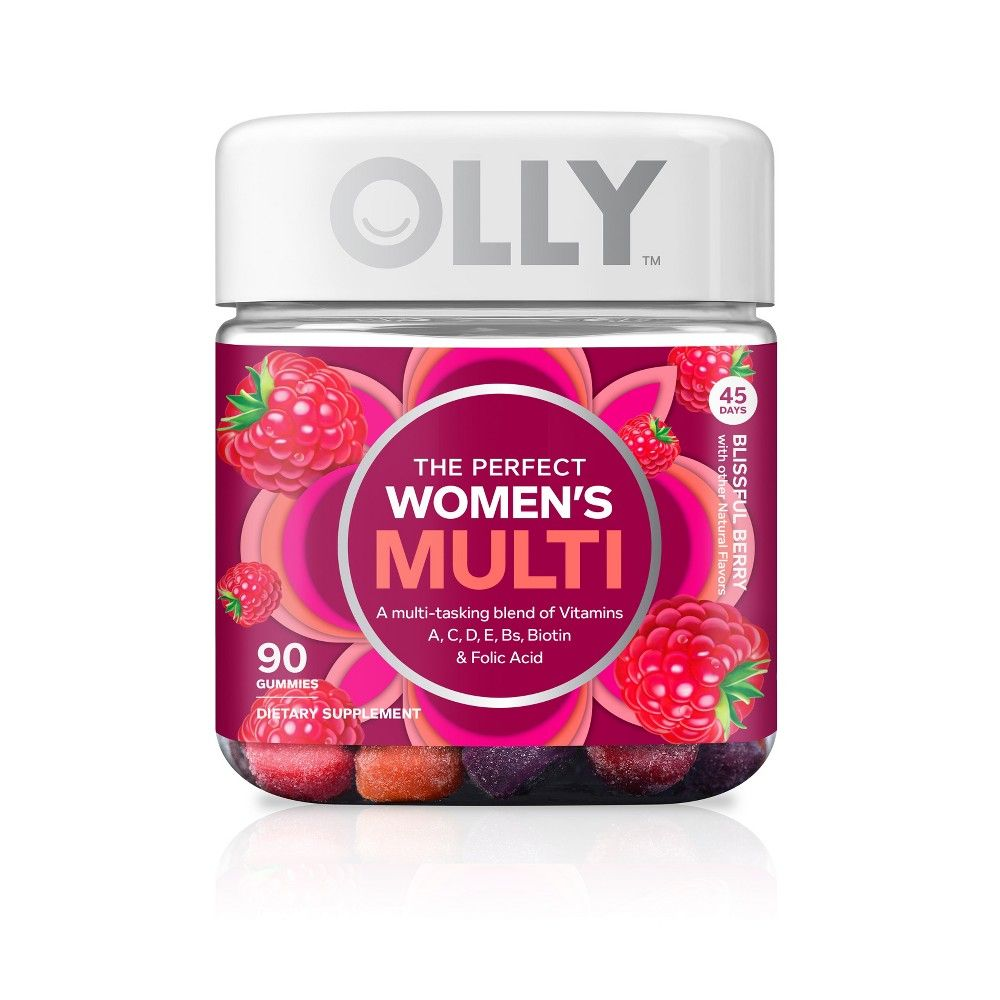 Olly The Perfect Women S Multi Vitamin Blissful Dietary Supplement