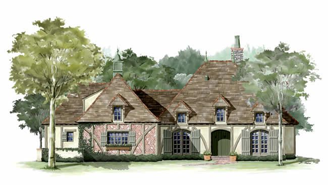 Cottages Artist Rendering Arnold House Dream House Exterior French Cottage