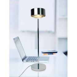 Top Light Puk Maxx Eye Table Halogen Tischleuchte (37cm) chrommatt Linse klar 37cm Standard-Fassung #schwarzezimmer