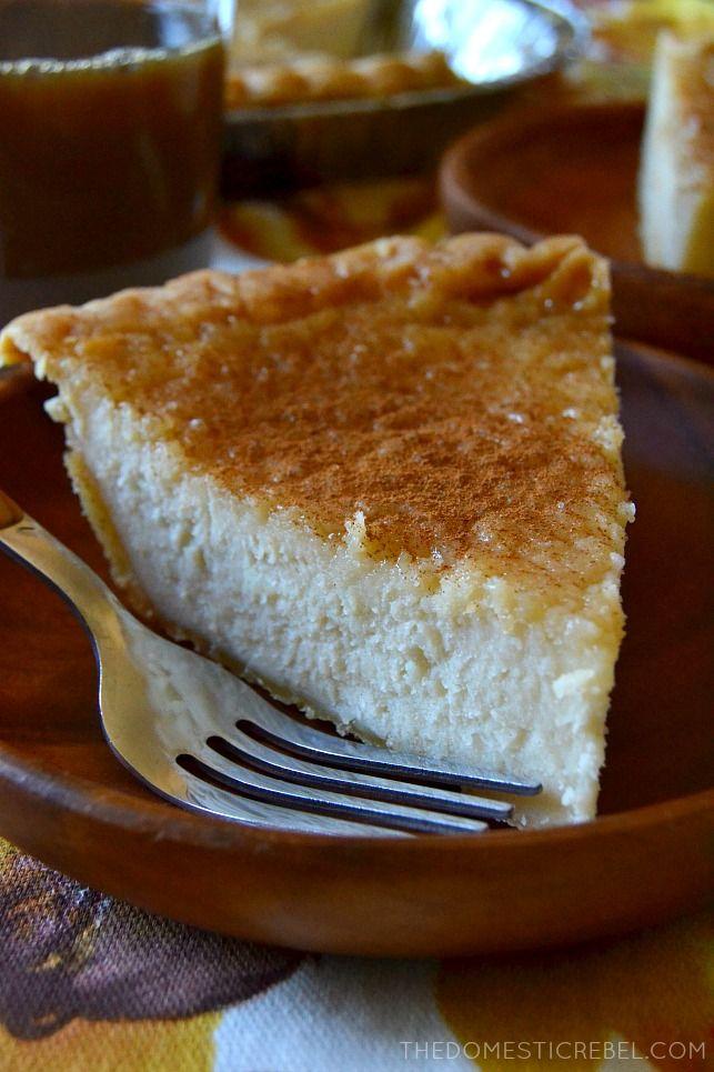Maple Sugar Cream Pie