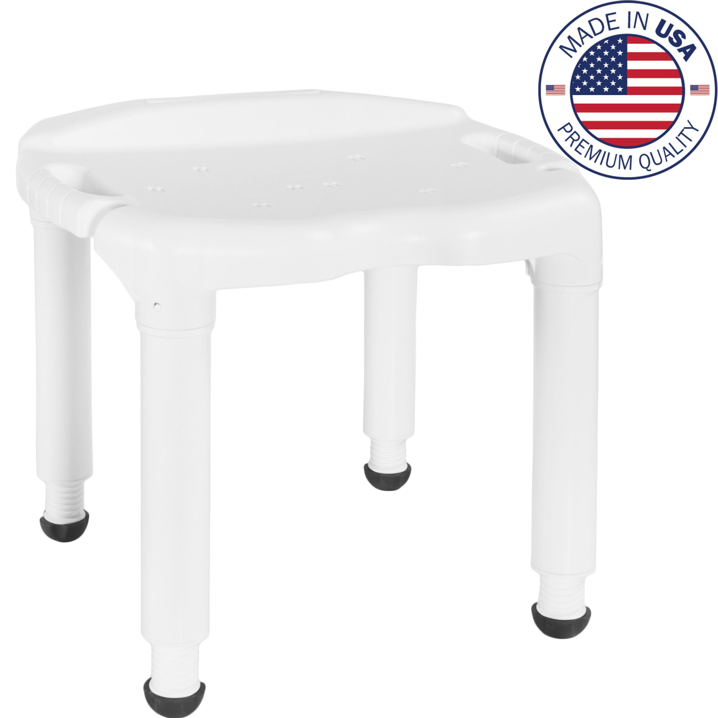 Medical Tool-Free Assembly Carex Spa Bathtub Adjustable Shower Chair ...