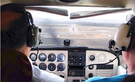 Groupon - Discovery Flight-Lesson Package for One or Two at Desert Spirits Aviation (Up to 51% Off). Groupon deal price: $79.00