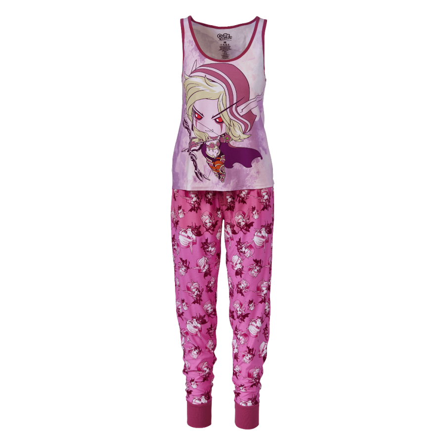 43ce26541f14 Cute But Deadly Sylvanas Two Piece Pajamas | Blizzard Gear Store ...