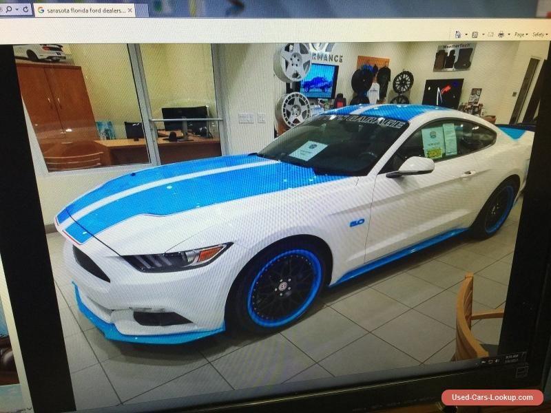 2016 Ford Mustang 2016 Mustang GT Premium Richard Petty s Garage