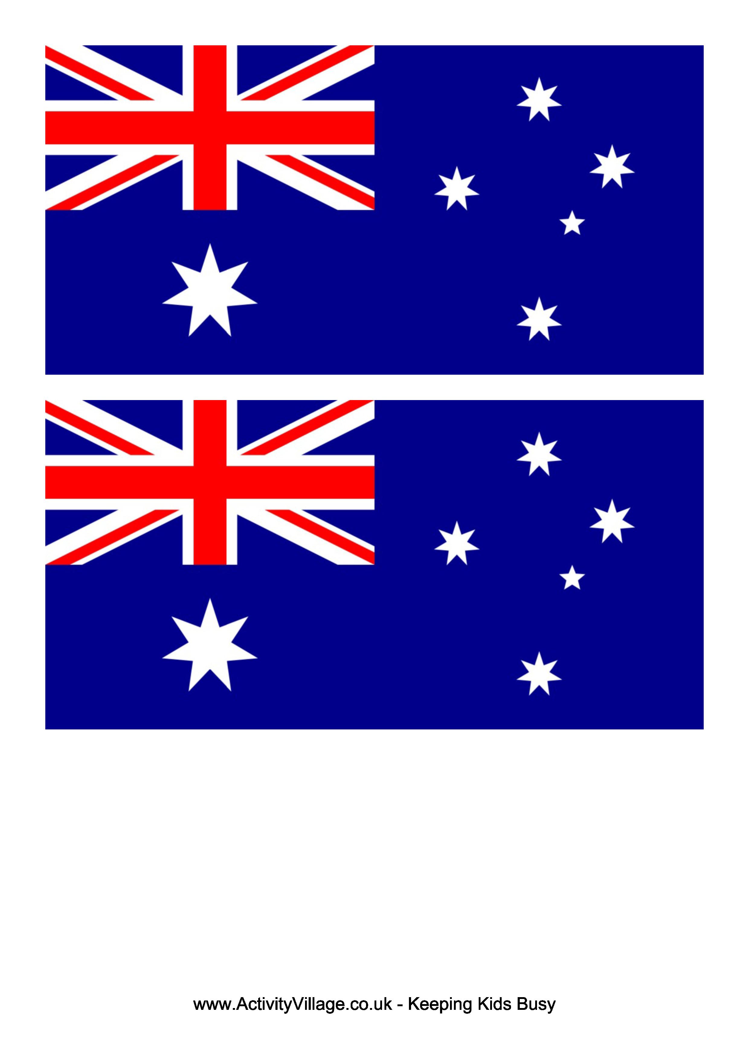 Australia Flag Free Printable Australia Flag Flag Template Flag Printable Australia Flag