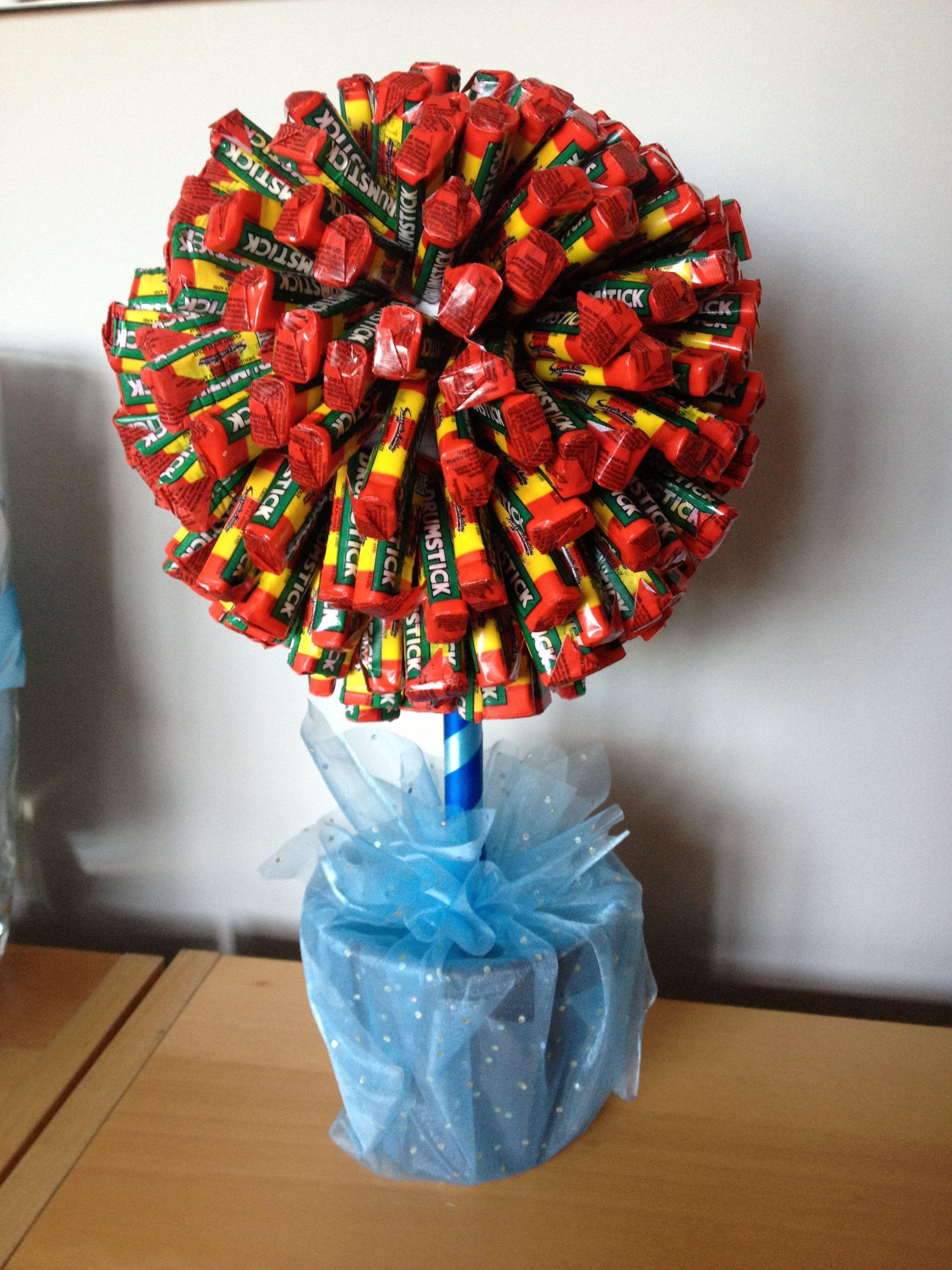drumstick sweetie tree x sweet trees chocolate bouquet homemade gifts drumstick sweetie tree x sweet trees