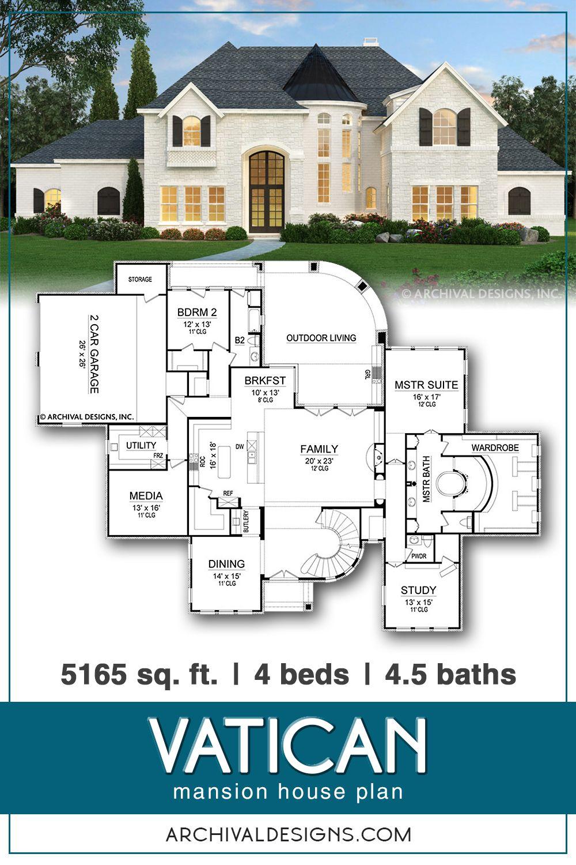 Vatican House Plan In 2020 Mansion Floor Plan Modern House