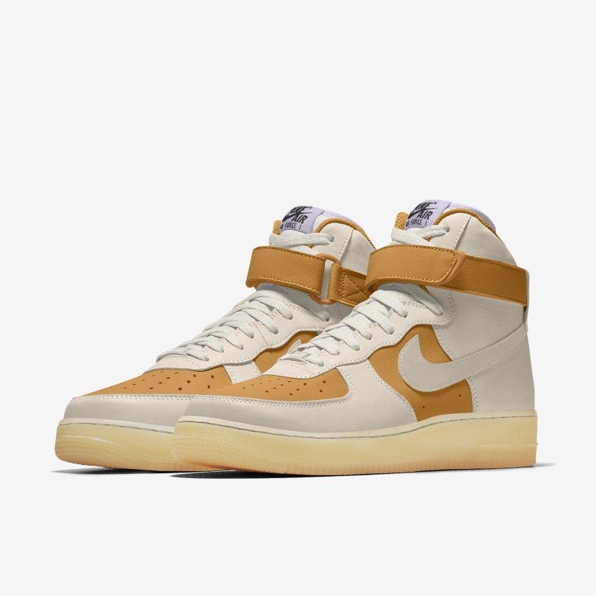 Nike Air Force 1 High By You Custom Men's Shoes. Nike.com | Nike ...