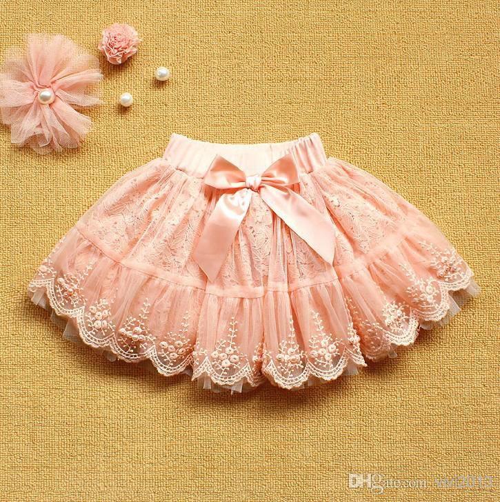 b0ce14bc31 Wholesale cheap girl dress online, brand - Find best 2014 hot summer baby  girl tutu skirt girl korean lace hollow pearl gauze skirt princess skirt  pink ...