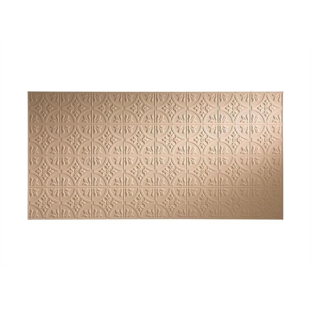 Fasade traditional style bisque wall panel uxu u x