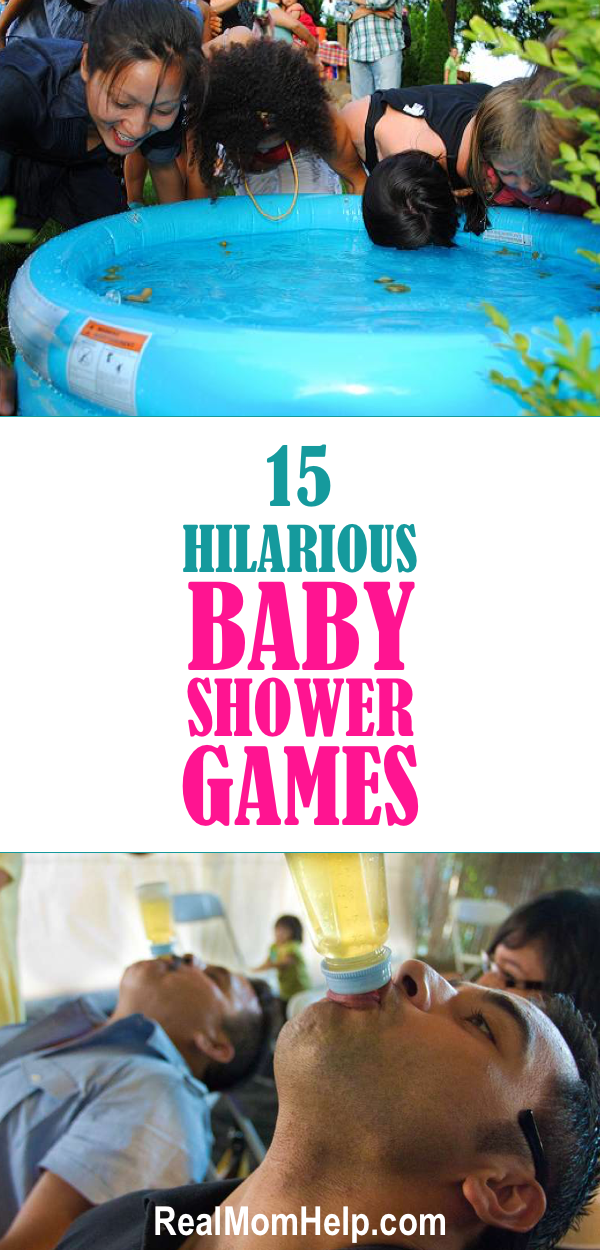 15 Hilarious Baby Shower Games Middle Babies And Gender Reveal